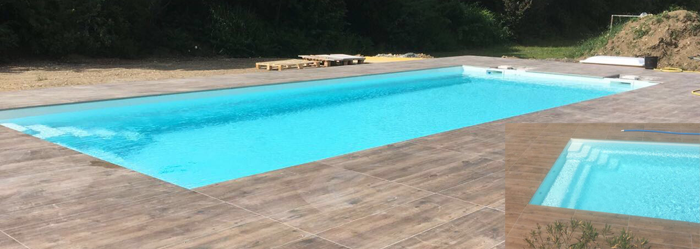 Polyesterpool Modell Plaisance 8